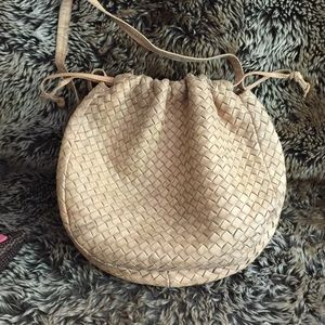BOTTEGA VENETA CROSSBODY BAG VINTAGE FROM THE 80's